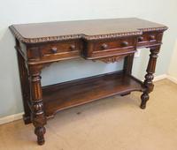 Antique Oak Victorian Shaped Sideboard Server (2 of 15)