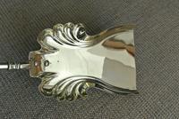 Quality Victorian Brass Fire Irons Companion Set Tongs Poker Shovel Set 18 c.1890 (8 of 9)