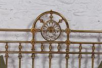 Handsome Super King Size Victorian all Brass Bed (11 of 12)