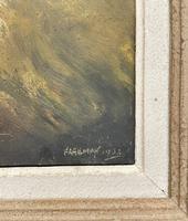 Oil of St Bernard Dog (3 of 3)