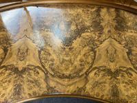 Queen Anne Burr Walnut Kidney Dressing Table (5 of 17)