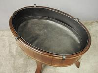 Mahogany Oval Wine Cooler / Jardiniere (5 of 8)