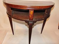 Dutch Mahogany & Marquetry Side Table (5 of 11)