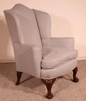 Queen Anne Armchair in Mahogany - 19th Century (3 of 9)