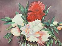 Large Original Gilt Framed 20th Century Impressionist Still Life Floral Oil Painting (3 of 12)