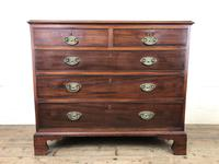 George III Mahogany Chest of Drawers (2 of 18)