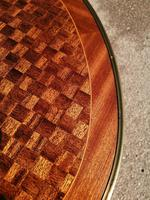 French Parquetry Occasional / Lamp Table (4 of 9)