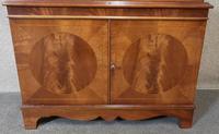 Reproduction Mahogany Display Cabinet (6 of 12)