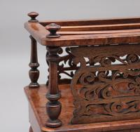 19th Century Burr Walnut Canterbury of Nice Proportions (9 of 10)