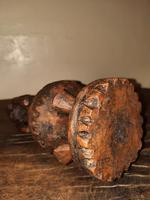Early 20th Century African Carved Wooden Stylized Sculpture (10 of 12)