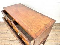 Antique Queen Anne Style Mahogany Side Table (9 of 10)