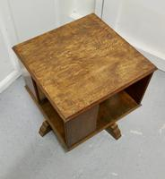 Table Top Oak Revolving Bookcase (4 of 4)