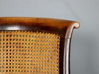 19th Century Victorian Caned Occasional Chair (4 of 9)