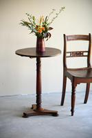 Antique Mahogany Side Table (3 of 10)