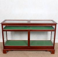 Shop Display Cabinet Glazed Mahogany 19th Century Glass (4 of 8)