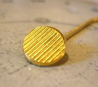 Vintage Pocket Watch Chain 1970s 12ct Gold Plated Albert & Ornate Button Hole Fob (4 of 10)