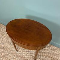 Stunning Victorian Shoolbred Mahogany Antique Centre Table (3 of 6)