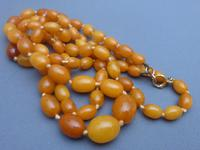 Double Strand Amber Bead Necklace (3 of 5)