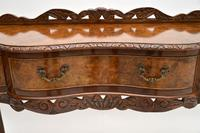 Queen Anne Style Burr Walnut Server Table c.1930 (11 of 12)