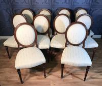 Set of Ten Mahogany Dining Chairs (3 of 10)