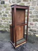 Antique Oak Dining Table Leaf Cabinet (3 of 9)