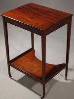 Very Good George III Period Mahogany Work or Occasional Table (6 of 6)