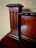 """Edwardian Mahogany """"D"""" Shaped Sideboard / Chippendale Style (7 of 12)"""