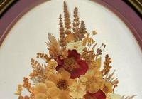 19th Century Victorian Floral Still Life of Pressed Flowers Picture (3 of 12)