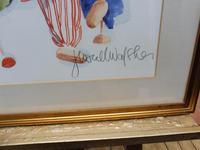 Watercolour The Puppets listed Irish artist Judith Caulfield Walsh (2 of 10)