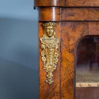 Burr Walnut Pier Cabinet (5 of 12)