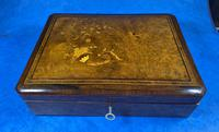 19th Century French Rosewood Jewellery  Box (3 of 11)