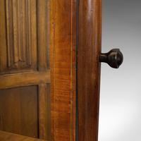Antique Toilet Mirror, English, Walnut, Vanity, Empire Style, Victorian c.1880 (12 of 12)