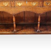Georgian Oak Inlaid Dresser Base (5 of 11)