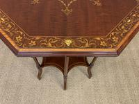 Edwards & Roberts Inlaid Mahogany Centre Table (12 of 15)