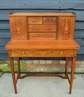 Lovely Quality Bonheur du jour attributed to Jas Shoolbred & co
