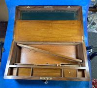 Victorian Brass-bound Walnut Writing Slope with Secret Drawers (25 of 39)
