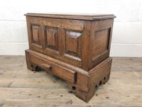 18th Century Style Welsh Oak Coffer Bach Chest (6 of 9)