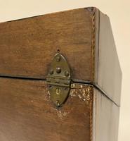 Georgian Mahogany Inlaid Knife Box (20 of 21)