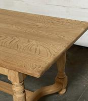 Nice Bleached Oak Farmhouse Dining Table (11 of 19)