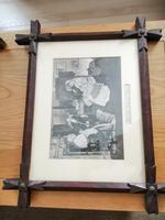 Antique Pair of Gothic Oak Frames (3 of 10)