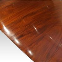 Antique Mahogany Pedestal Dining Table (5 of 9)