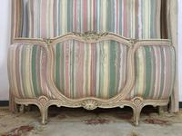French Pair of Demi Lune Corbeille Single Bed Frames (9 of 11)