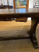 Oak refectory table (7 of 9)