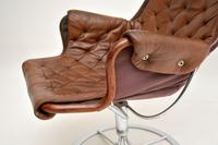 Vintage Leather & Chrome Jetson Chair by Bruno Mathsson for Dux (9 of 11)