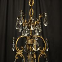 French Bronze 12 Light Antique Chandelier (8 of 10)