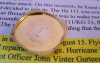 WW2 9ct Gold Longines Gentlemans Wrist Watch 1937 Hurricane Pilot Providence (6 of 12)