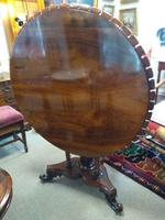 Victorian Rosewood Snap Top Table (3 of 9)