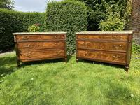 Matched Pair of 18th Century Mahogany Commodes (2 of 11)