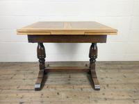 Antique Oak Draw Leaf Table (7 of 8)