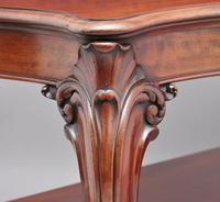 19th Century Carved Mahogany Serving Table (8 of 9)